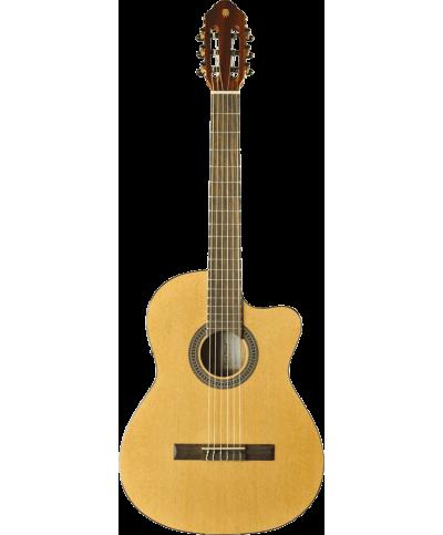 Eko GEC VIBRA150CW Guitare Classique Vibra 4/4 cutaway électro Natural table en cèdre