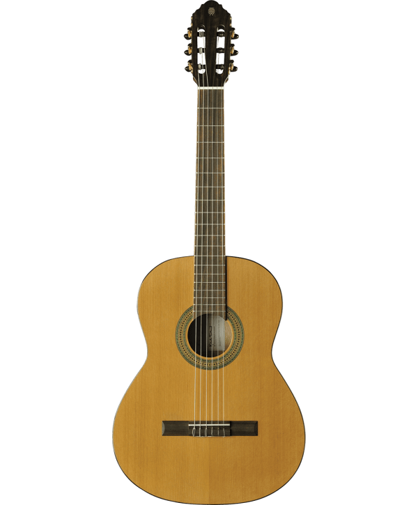 Eko GEC VIBRA200 Guitare Classique Vibra 4/4 Natural table en cèdre massif