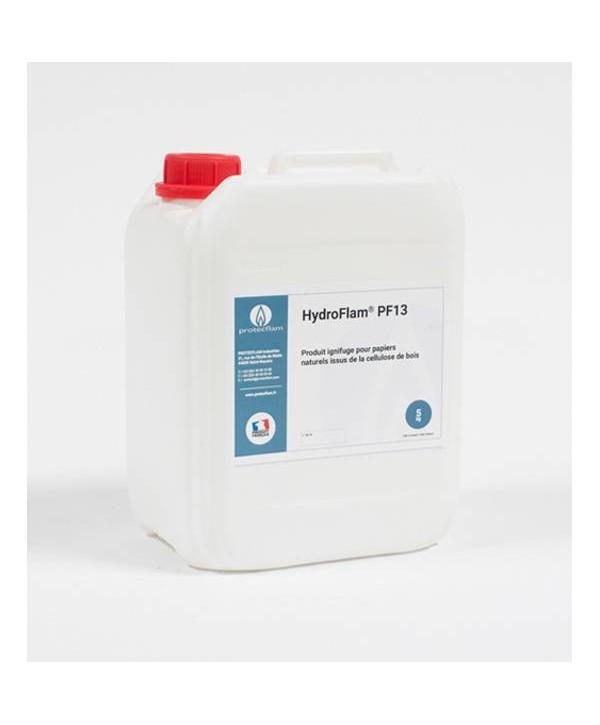 Bidon Ignifugation pour carton et Papier ignifusage PROTECFLAM PF13 5litres