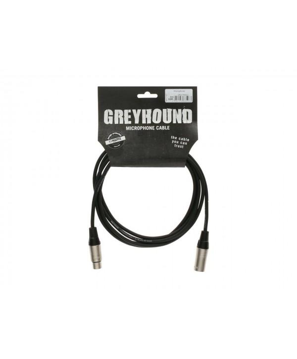 Cordon Audio KLOTZ XLR Mâle Femelle 1.50M GREYHOUND