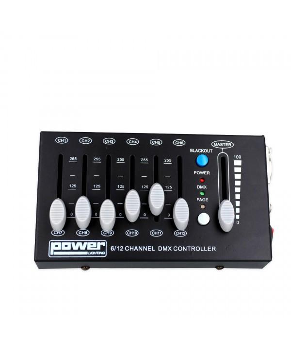Console DMX 12 Canaux Power Lighting DMX MINISHOW 12C