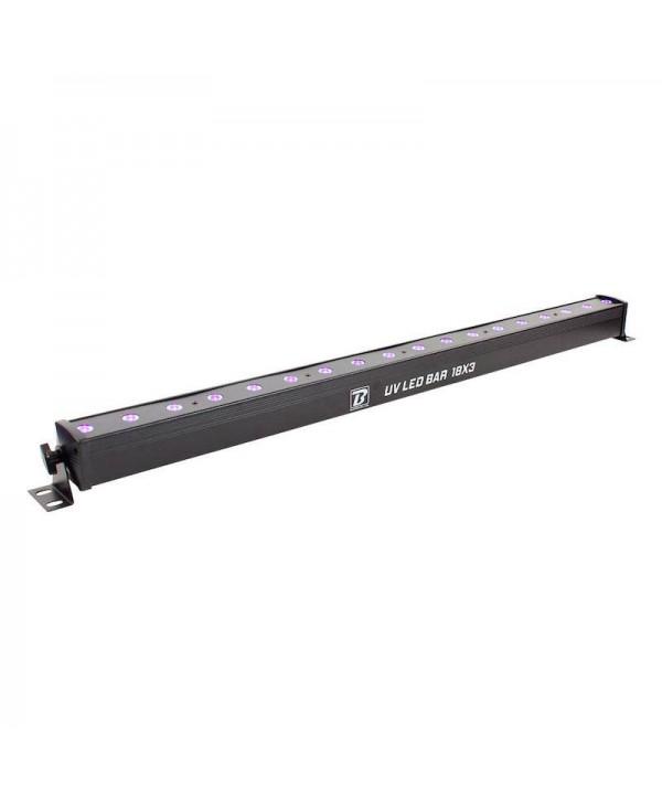 Barre UV LED BAR 18X3 BoomTone DJ 1M Lumière noire