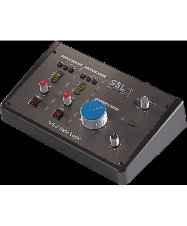 SSL RSL SSL2 Interface audio USB-C 2 entrées, 2 sorties