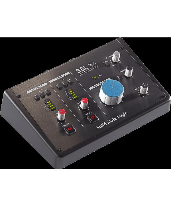 SSL RSL SSL2+ Interface audio USB-C 2 entrées, 4 sorties