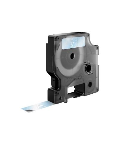 Dymo Ruban D1 12 mm x 7 m blanc sur transparent  45020 Accessoires Étiqueteuse