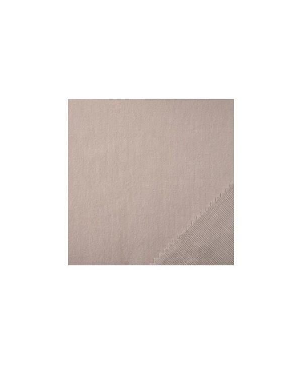 Tissus Coton Gratté THEMIS Gris Clair 140g M2 M1 en 2,6M prix au ML