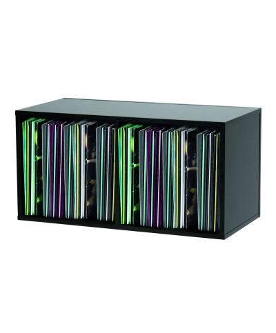 RECORD BOX BLACK 230 VINYLES GLORIOUS