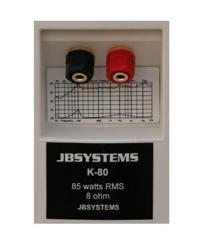 Enceintes Passives K80/W JB SYSTEMS 85W RMS La paire