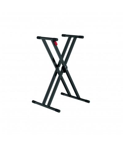 Stand en X double trépied POWER ACOUSTICS KS 010
