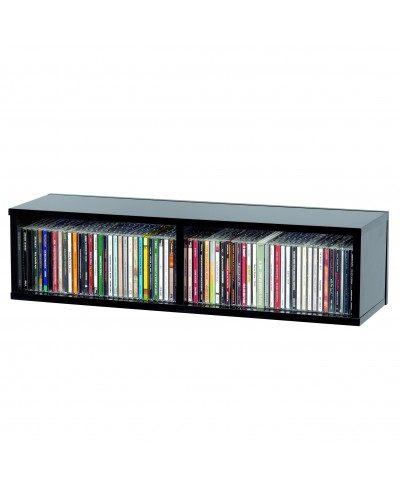 Casier Rangement 90 CD Finition Noir GLORIOUS DJ CD BOX 90 BLACK