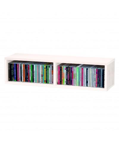 Casier Rangement 90 CD GLORIOUS DJ CD BOX 90 WHITE