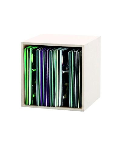 Casier Rangement pour 110 Vinyles Finition Blanche GLORIOUS DJ RECORD BOX 110 WHITE