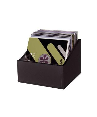 Casiers Rangement 110 Vinyles Finition Noir GLORIOUS DJ RECORD BOX ADVANCED 110 BLACK