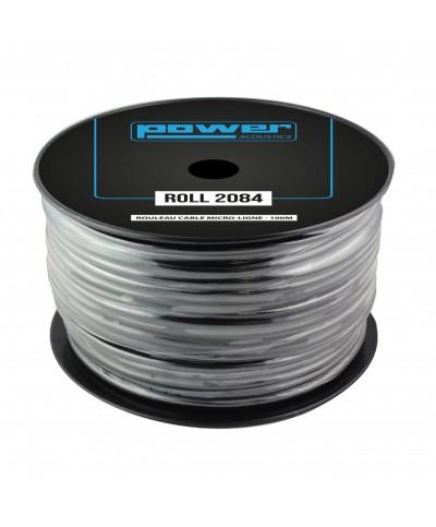 Rouleau Câble Micro-Ligne - 100m POWER ACOUSTICS ROLL 2084