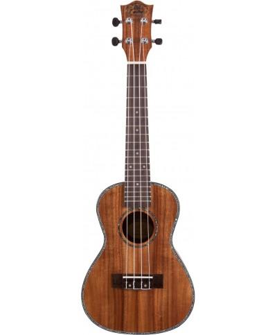 Prodipe Guitars BC2380 KOA UKULELE CONCERT dos bombé 23P