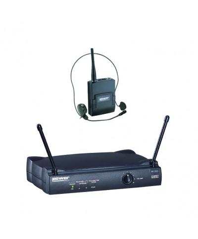 Simple Micro Serre-Tête VHF - Freq 175,5 Mhz Power Acoustics WM 3000 PT 175