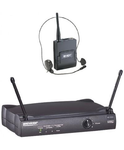 Simple Micro Serre-Tête VHF - Freq 183,5 Mhz Power Acoustics WM 3000 PT 183