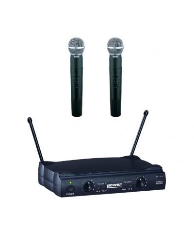 Double Micro Main VHF - Freq 178,5-186,5 Mhz Power Acoustics WM 4000 MH GR2