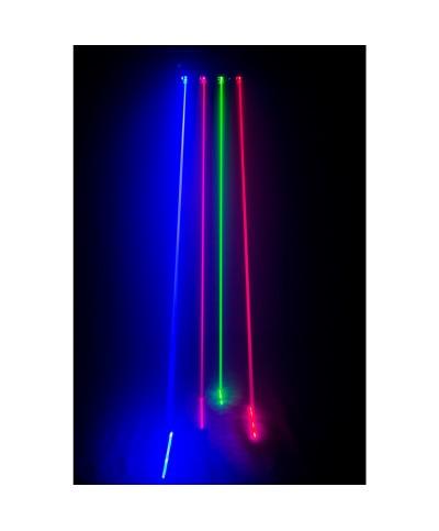 MULTIBEAM LASER Show laser 4 sorties de faisceau séparées