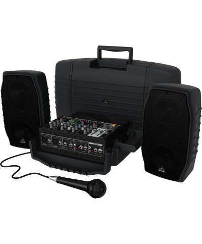 Sono Portable BEHRINGER PPA200 2x100W Kit en Malette