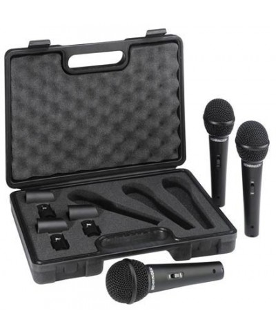 Micro BEHRINGER XM1800S Pack 3 Micro Dynamique Cardioïde Voix