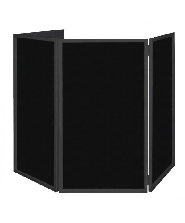 Tissus pour Event FACADE Scrims 4 pièces Noire
