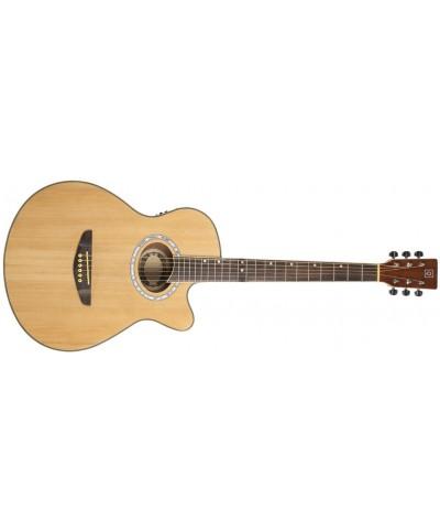 Guitare Electro Acoustique OQAN GUITARES QGA-40CE Nat