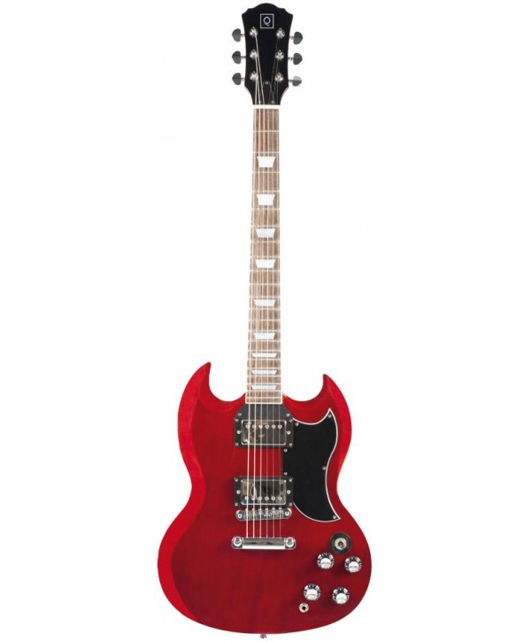 Guitares Electriques OQAN GUITARES QGE-SG10 RW Red Wine