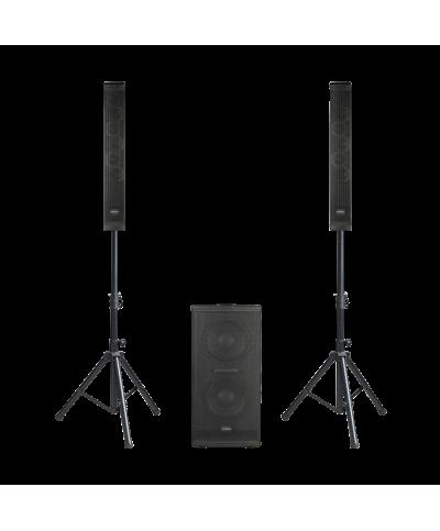 Système compact triphonique actif 600W RMS Definitive Audio VORTEX 600 L1